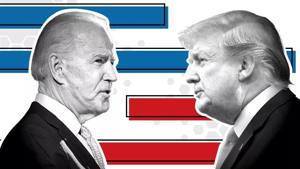 """二辩取消,特朗普和拜登在市政厅活动上""""决斗"""""""