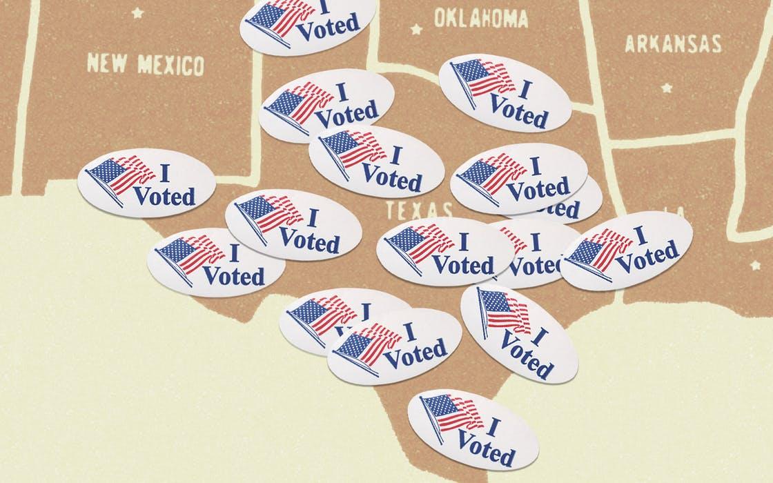 德州提前投票人口400万属全美第一