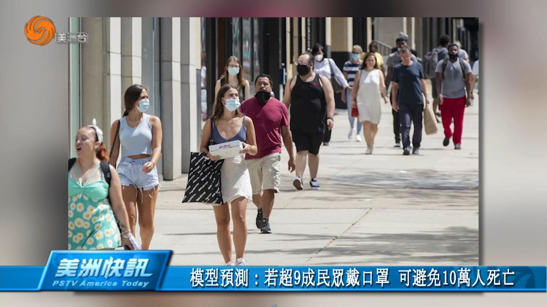 模型預測:若超9成民眾戴口罩 可避免10萬人死亡