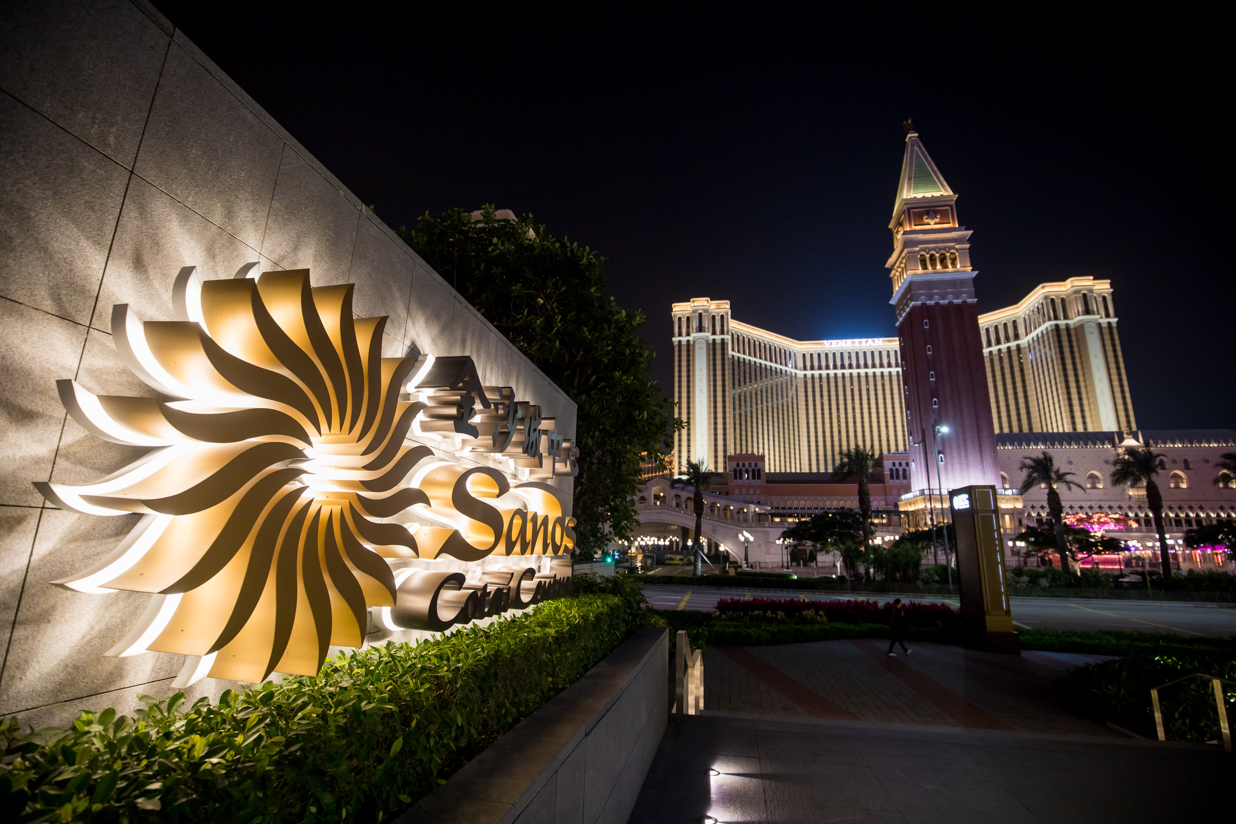 金沙集团考虑以60亿美元出售拉斯维加斯的旗舰赌场