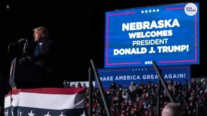 选举倒计时 特朗普连跑三州造势