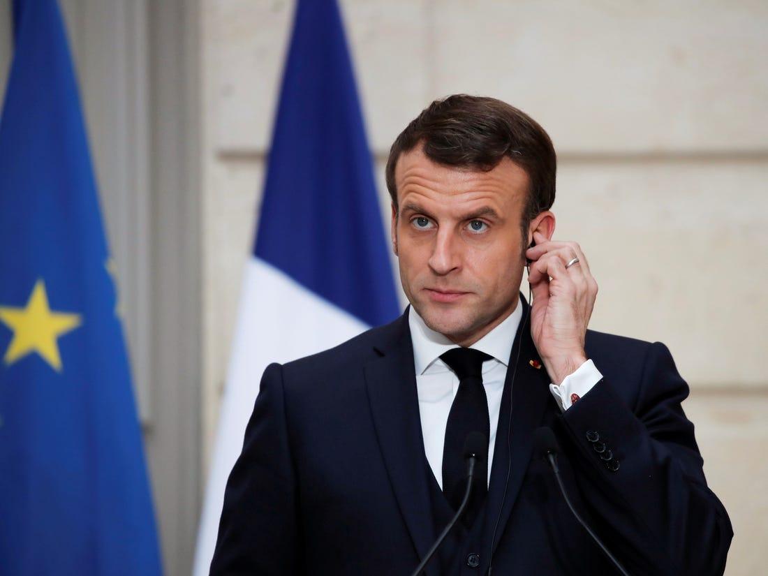 法国总统马克龙:从10月30日凌晨起法国进入二度封城