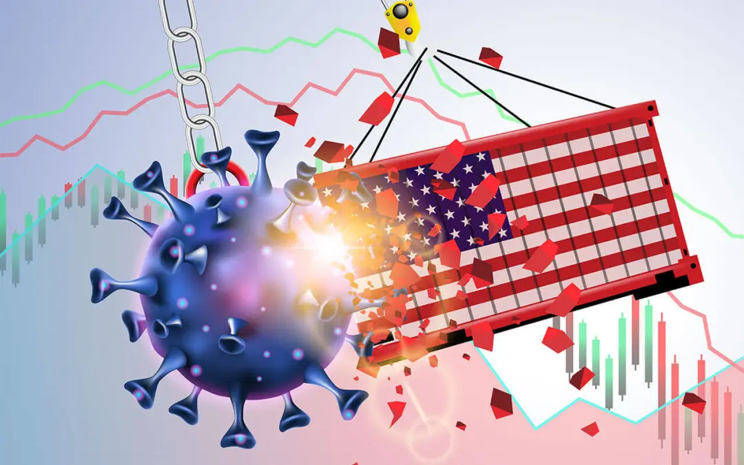 美国第三季度GDP增长33.1%;经济学家提醒可能的二次衰退