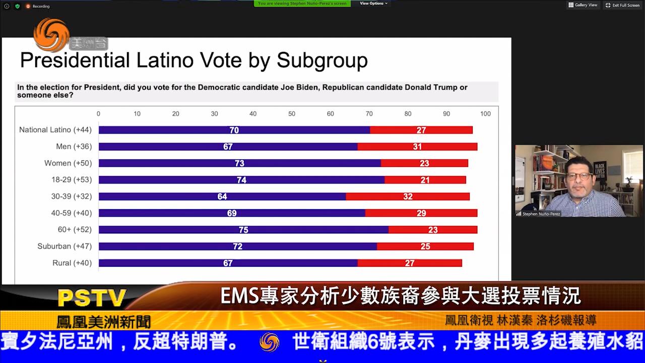 EMS專家分析少數族裔參與大選投票情況