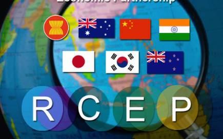 """日本、中国、韩国和十个东协国家同意签署""""区域全面经济伙伴关系协定"""""""