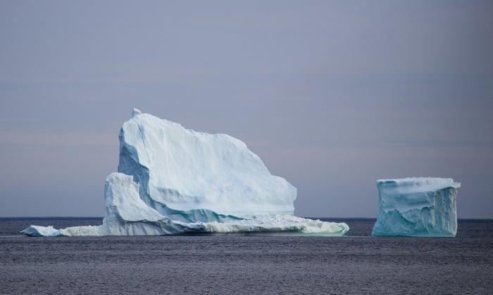 格陵兰3大冰河融化速度比科学家预测还要快