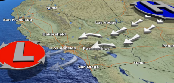 南加州周四将再次遭遇圣安娜焚风侵袭