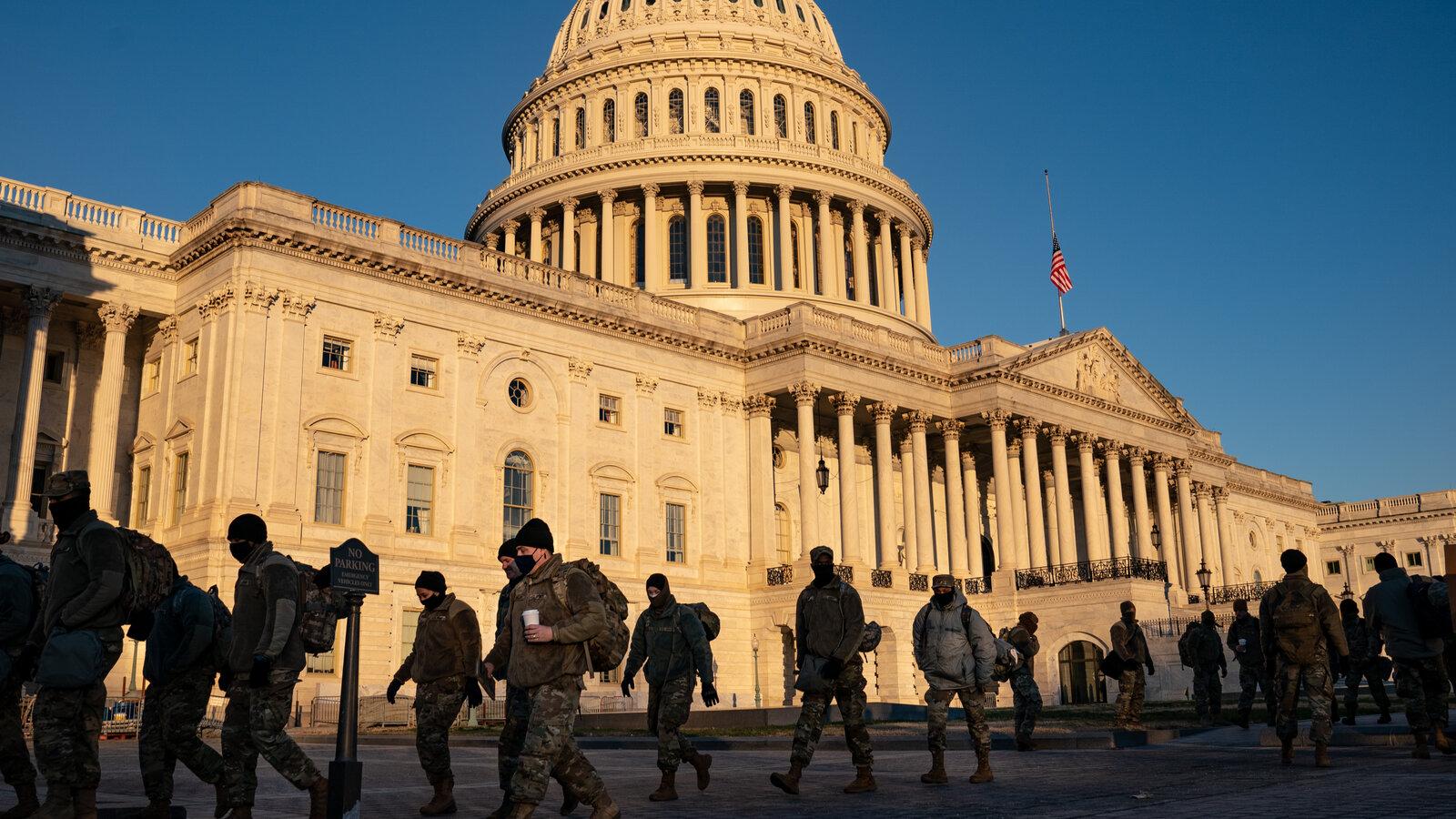 国防部高级官员称针对国会暴力军方会全力捍卫宪法