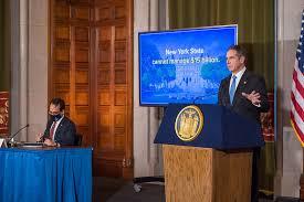 纽约州州长:如果联邦不提供150亿美元疫情援助将起诉拜登