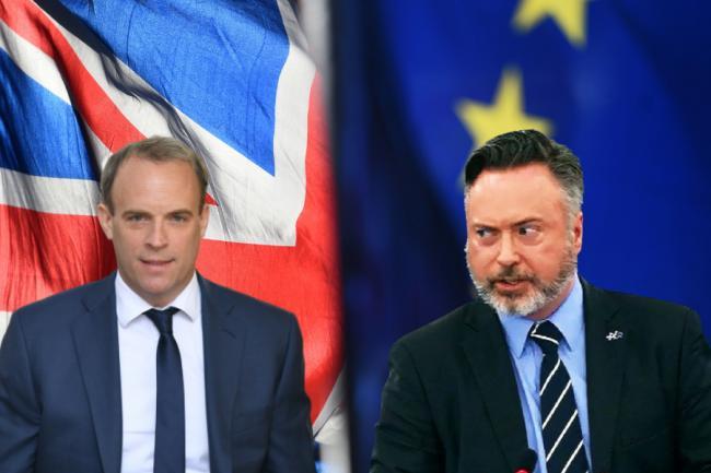 英国外交部拒绝给欧盟团队同等国家外交大使待遇