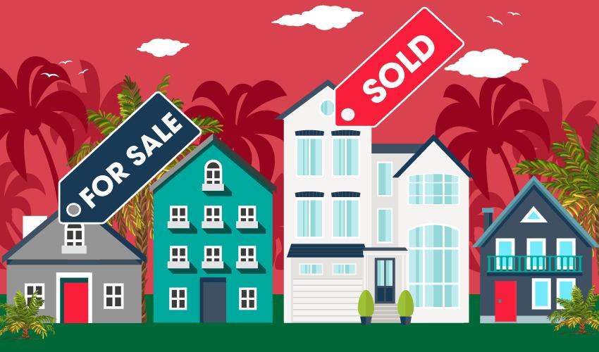 南加州12月房价与销售同比19年急剧上升