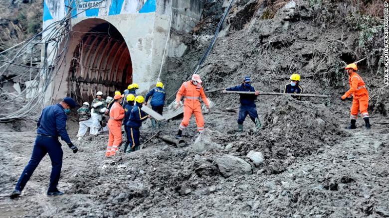 印度冰川断裂!已致26死,超171人失踪