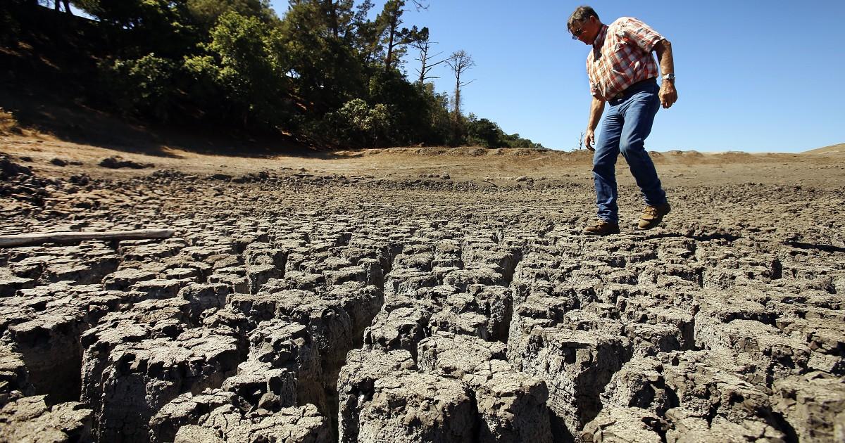 加州今年雨季较60年代晚了大约27天