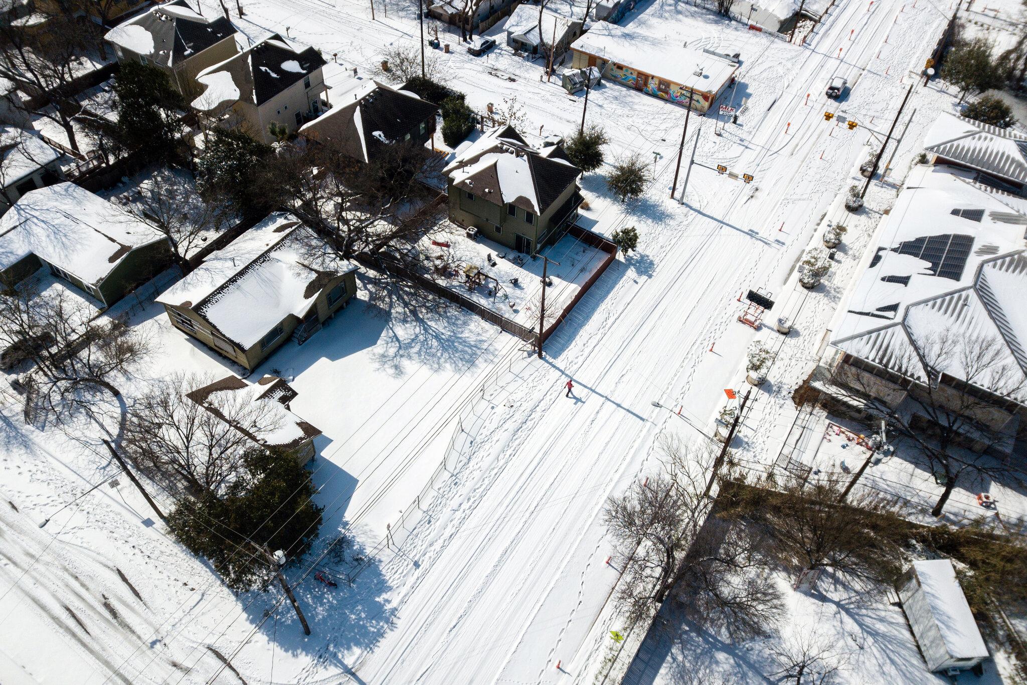 美国南部周三将再遇暴雪天气