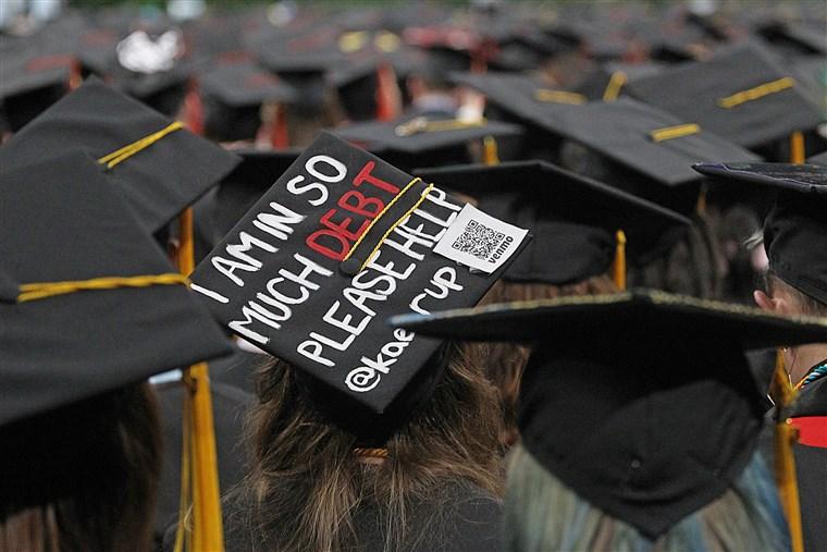 拜登拒绝免除每名借款人5万美元的学生贷款债务宽恕计划