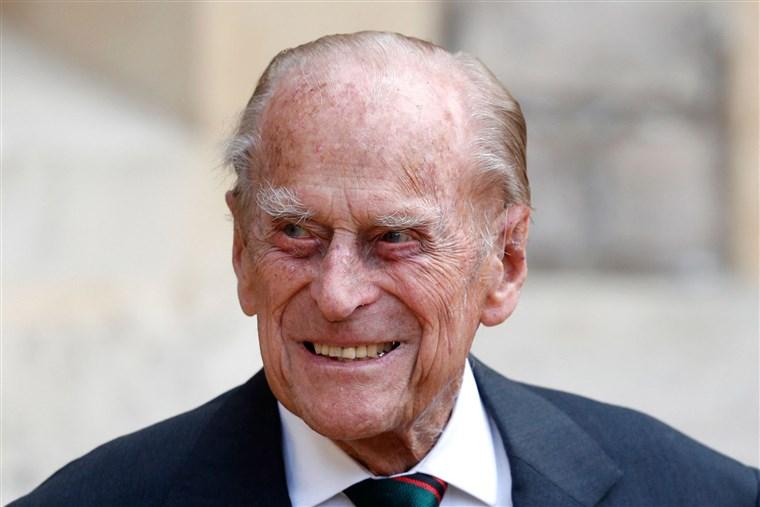 英国99岁菲立普亲王因染病住院接受治疗