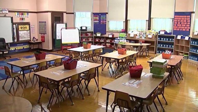 河滨县四个学区将重新开放,幼儿园至六年级可以返校复课