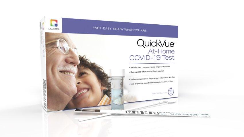 FDA批准Quidel公司居家新冠测试组紧急授权申请