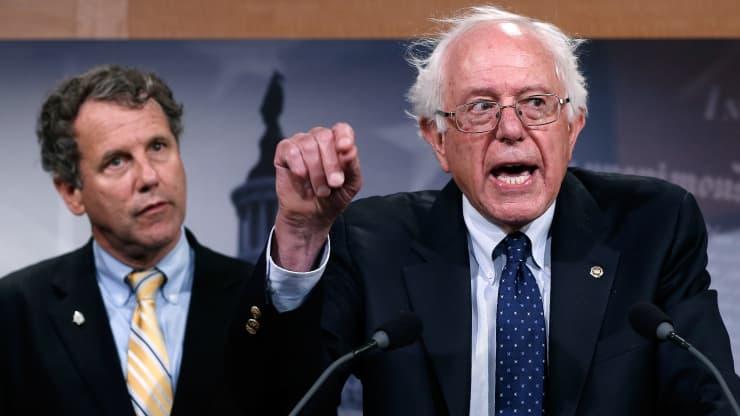 11名参议院民主党人敦促拜登在《经济复苏计划》中纳入定期支票和失业援助