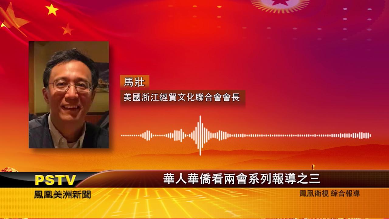 华人华侨看两会系列报道之三