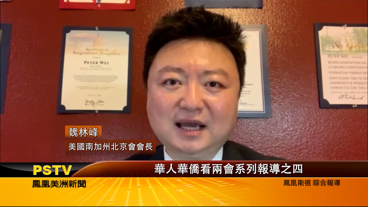 华人华侨看两会系列报道之四