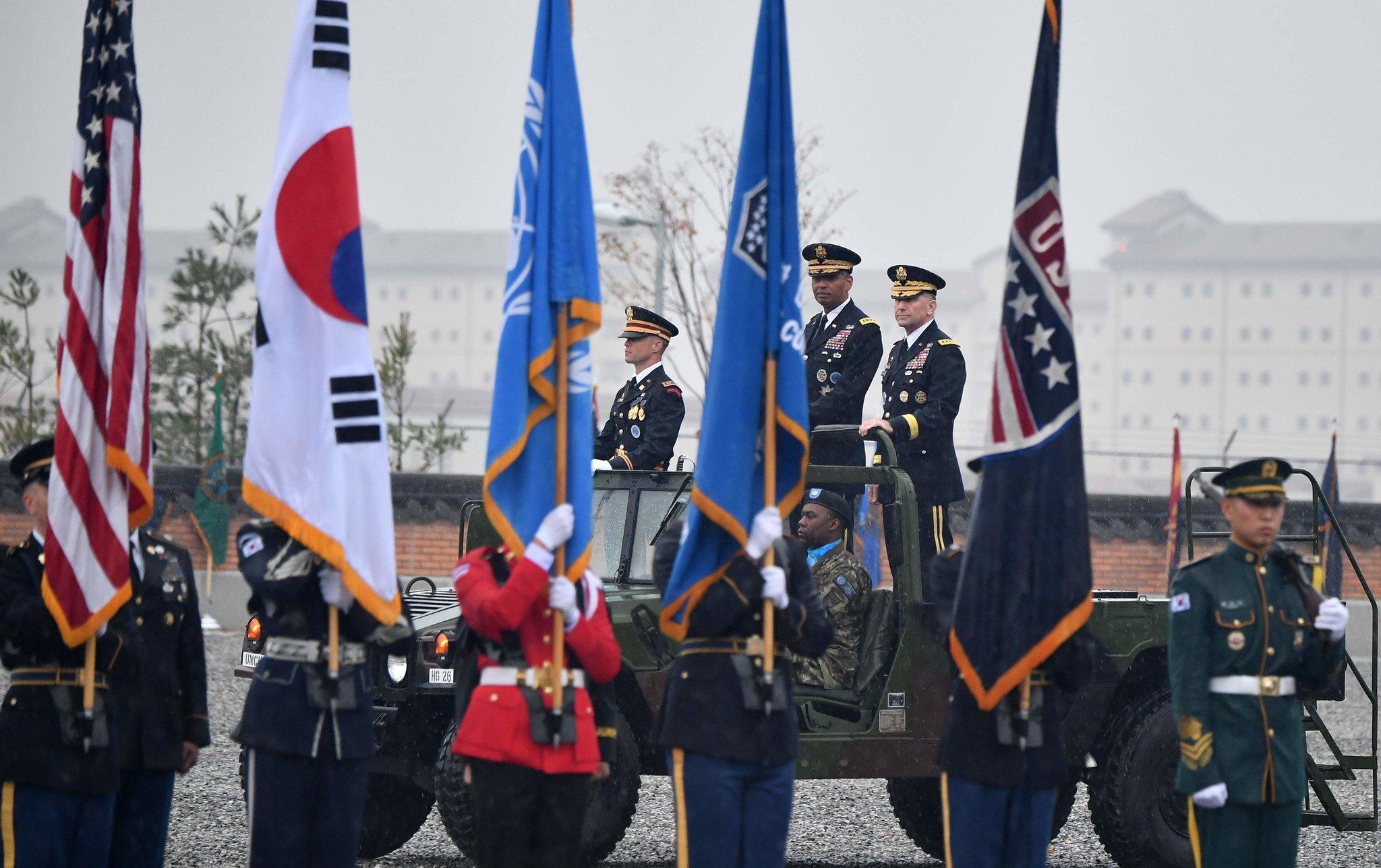 美韩两国签署了第11份驻韩美军《防卫费分担特别协定》
