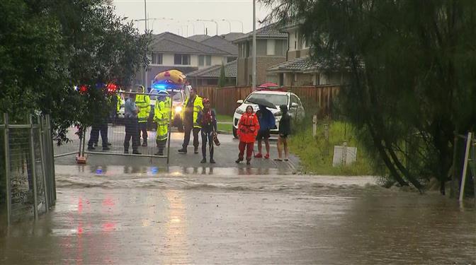澳洲再临强降雨季,悉尼北部洪患再次加剧
