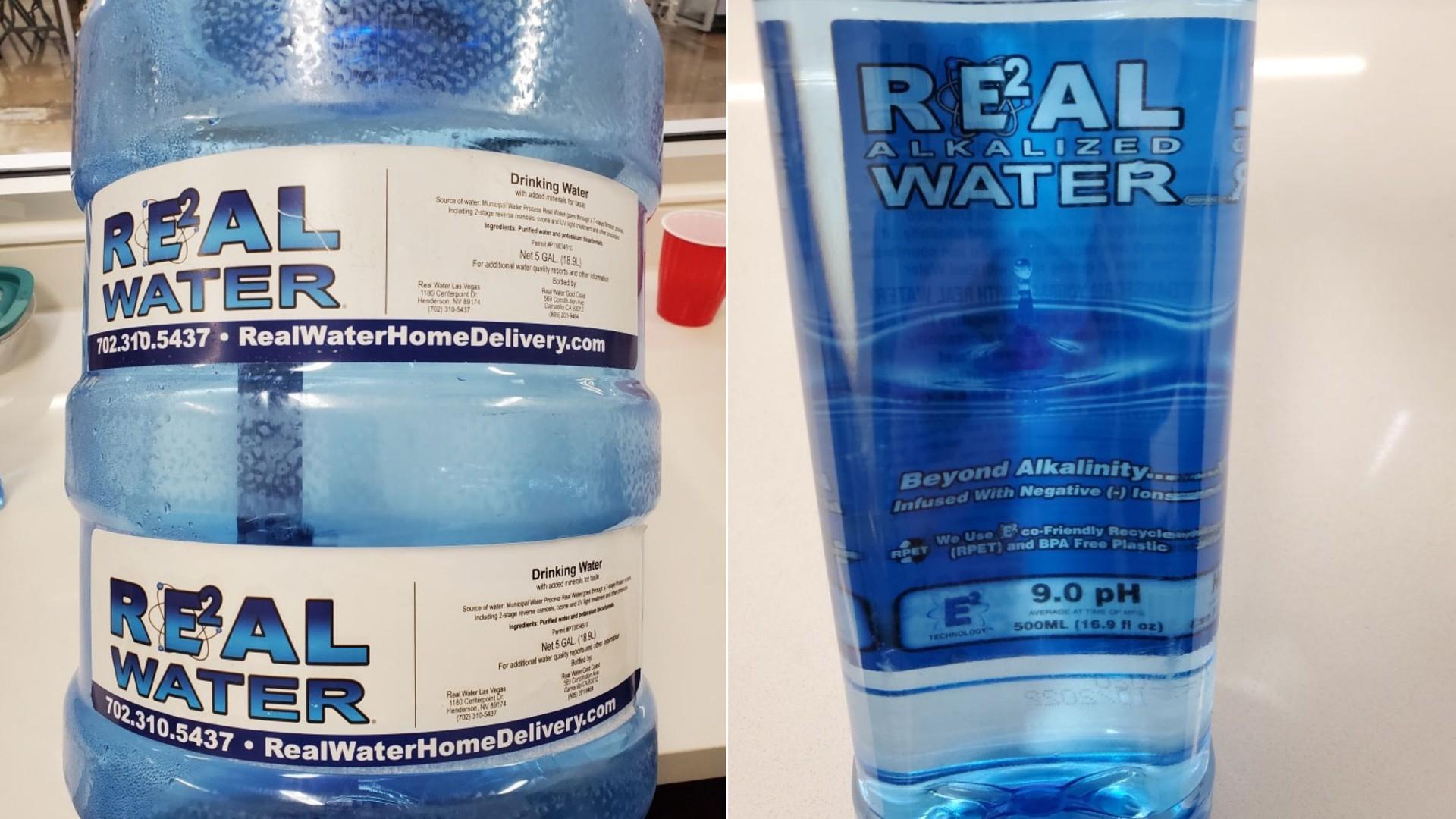 洛杉矶县官员敦促民众不要使用Real Water品牌碱性水