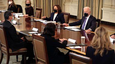 拜登将于今日举行上任以来首次全体内阁会议