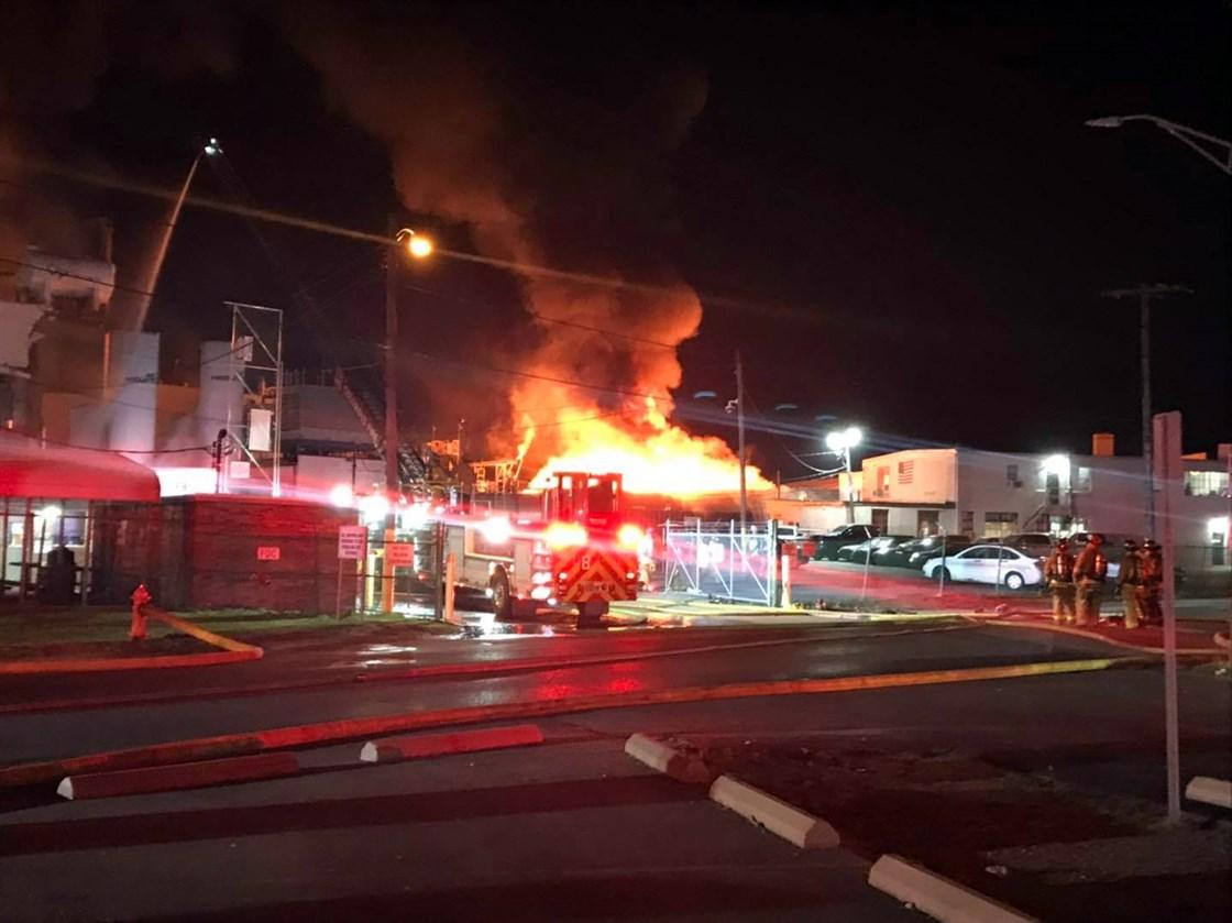 俄亥俄州油漆制造厂爆炸,造成一死八伤