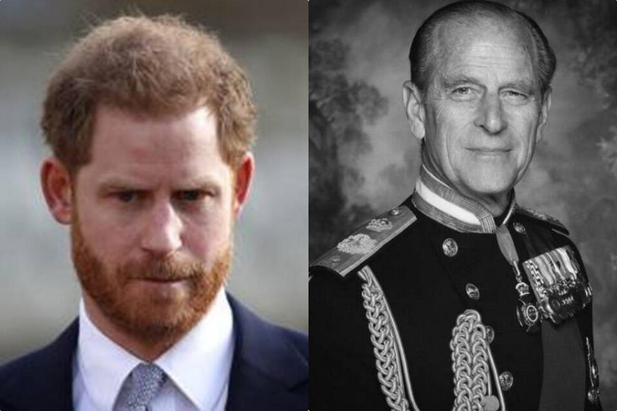 哈利王子抵达英国将参与祖父菲利普亲王葬礼