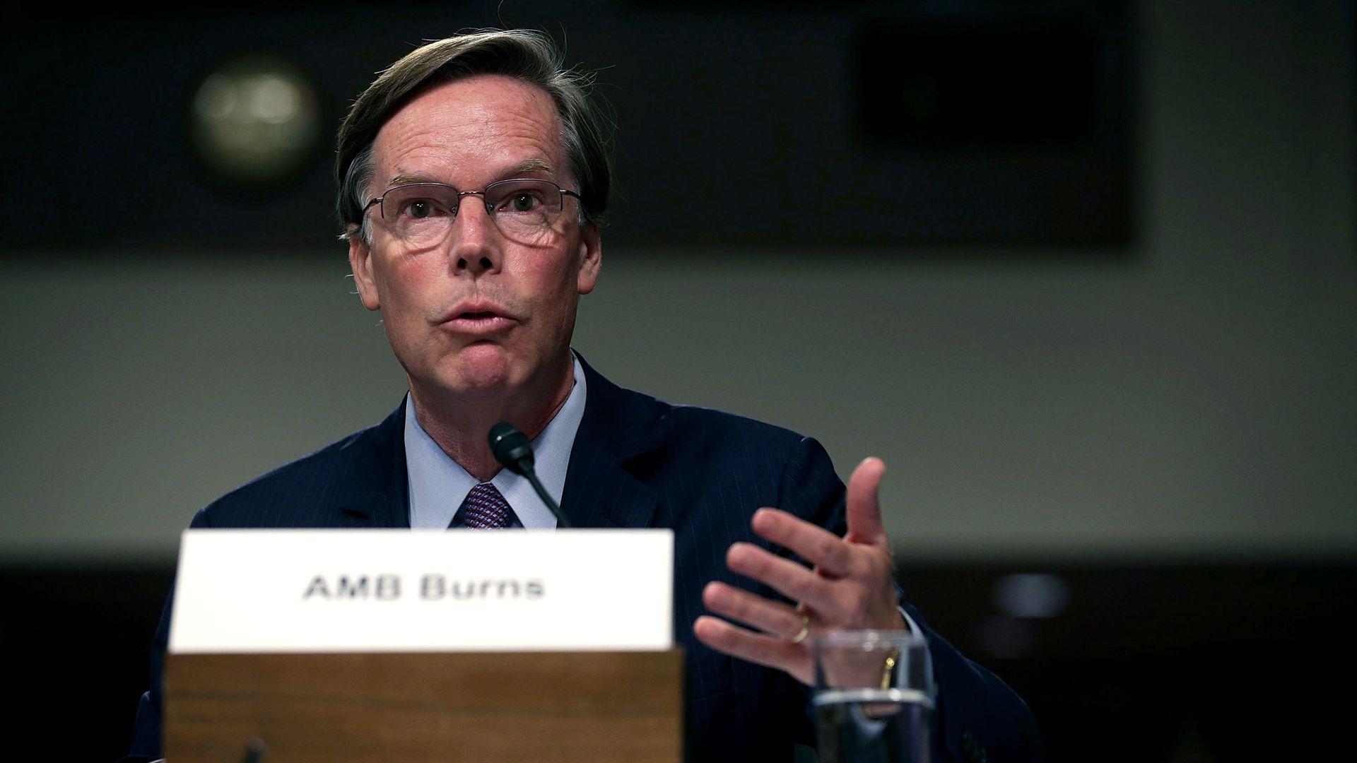职业外交官伯恩斯或将出任美国驻华大使