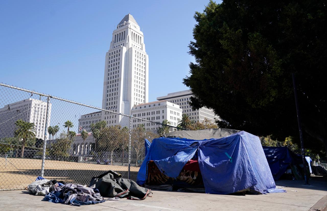 洛杉矶市长计划投入10亿美元解决流民问题