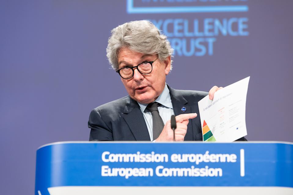 欧盟执行委员会公布严格规范人工智能AI的应用