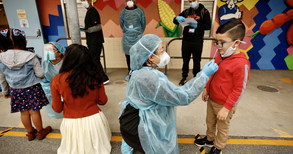 洛杉矶联合学逐步重启,学区177人新冠确诊呈阳性