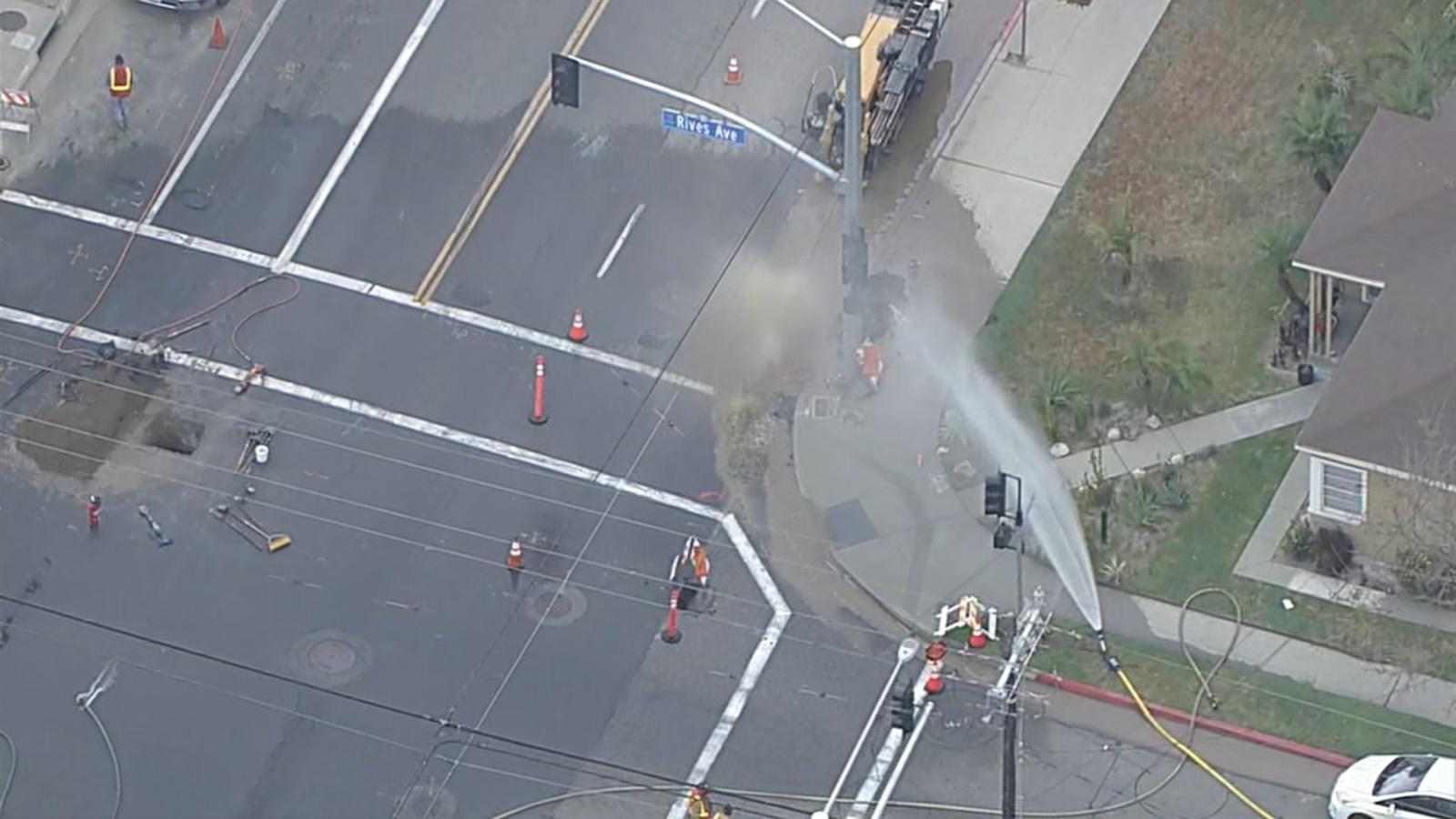 唐尼市发生煤气泄漏事件,避险通知意外发送到涉事以外人群