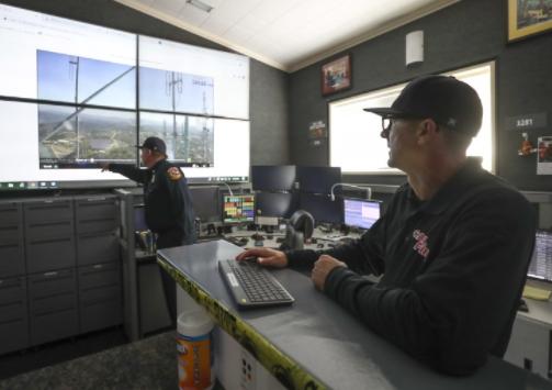 加州消防局为防火灾搭建由700多个摄像机组成监控网络