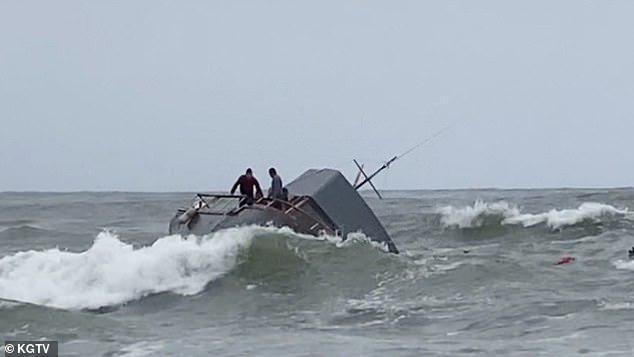 4人死亡!加州圣地亚哥海岸一偷渡船翻覆