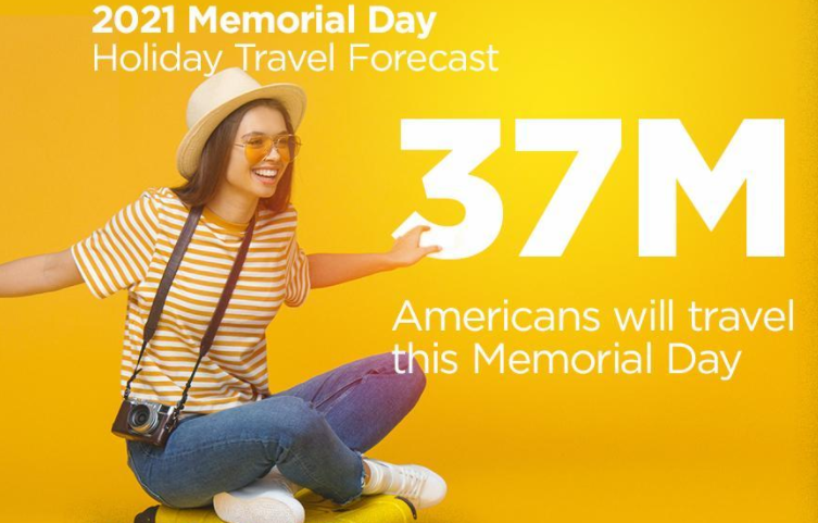 国殇日长周末旅行人数料将显著回升