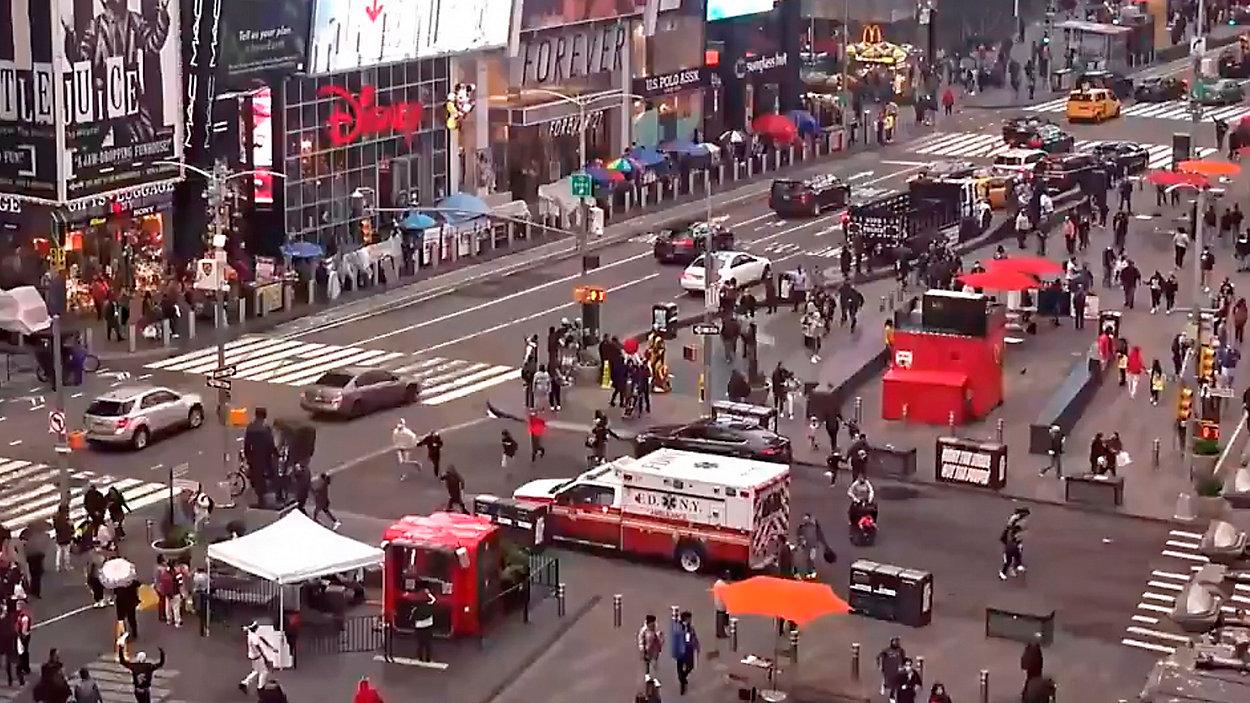 纽约时报广场枪案嫌犯佛州被缉获