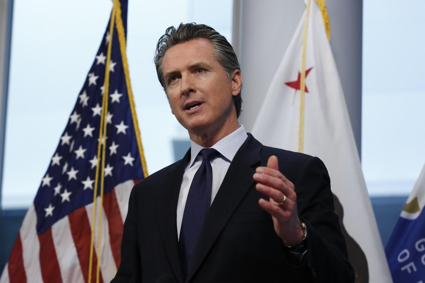 州长纽森:加州将在6月15日全面解禁,各县仍可保留防疫限制