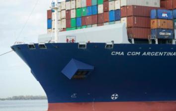 美国贸易逆差四月份贸易逆差较三月有所收缩