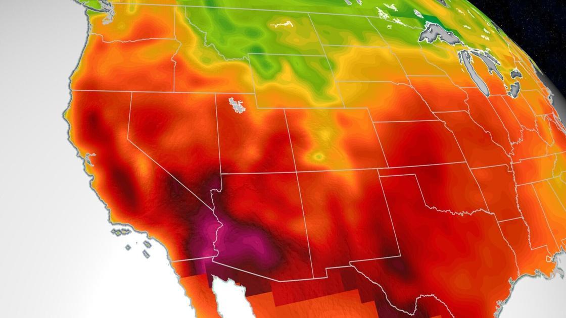 双重气象灾害预警!墨西哥湾热带风暴+美西热浪