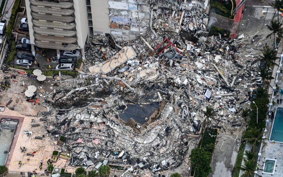 迈阿密大楼倒塌最新消息:4人死亡 159人失踪
