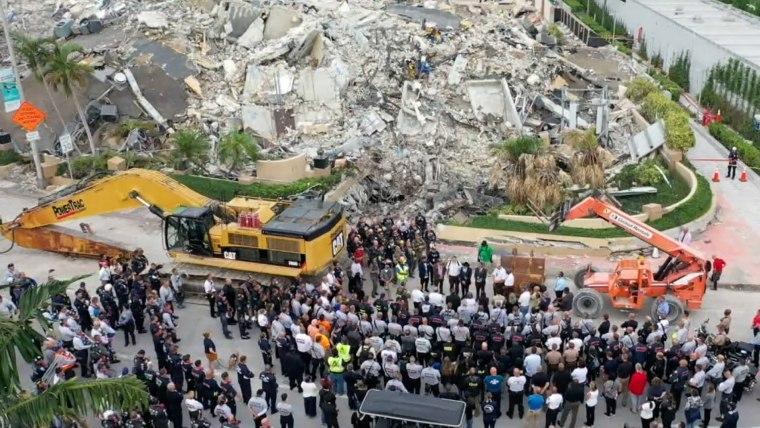 迈阿密公寓坍塌事故死亡人数达90人