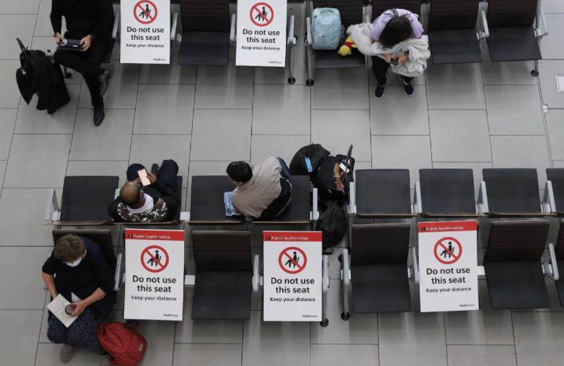 疫情亏损40亿美元,希斯罗机场敦促英国政府开放旅行