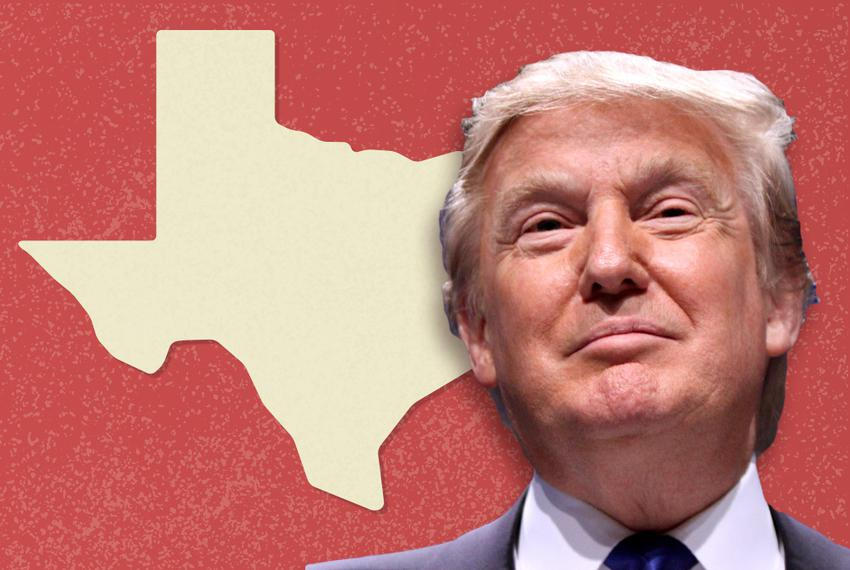 特朗普通过在得州支持帕克斯顿连任来冷落布什