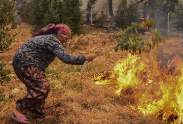 土耳其野火延烧6天波及35省