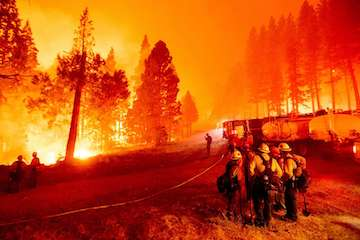 大火烧不停!迪克西大火即将成为加州有史以来最大的火灾