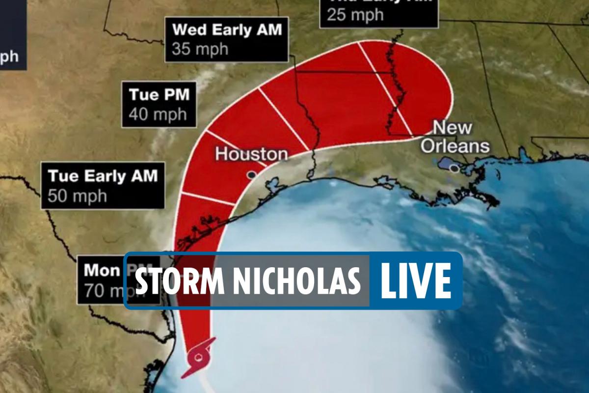 得州和路易斯安那发布风暴预警